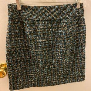 Woman short skirt
